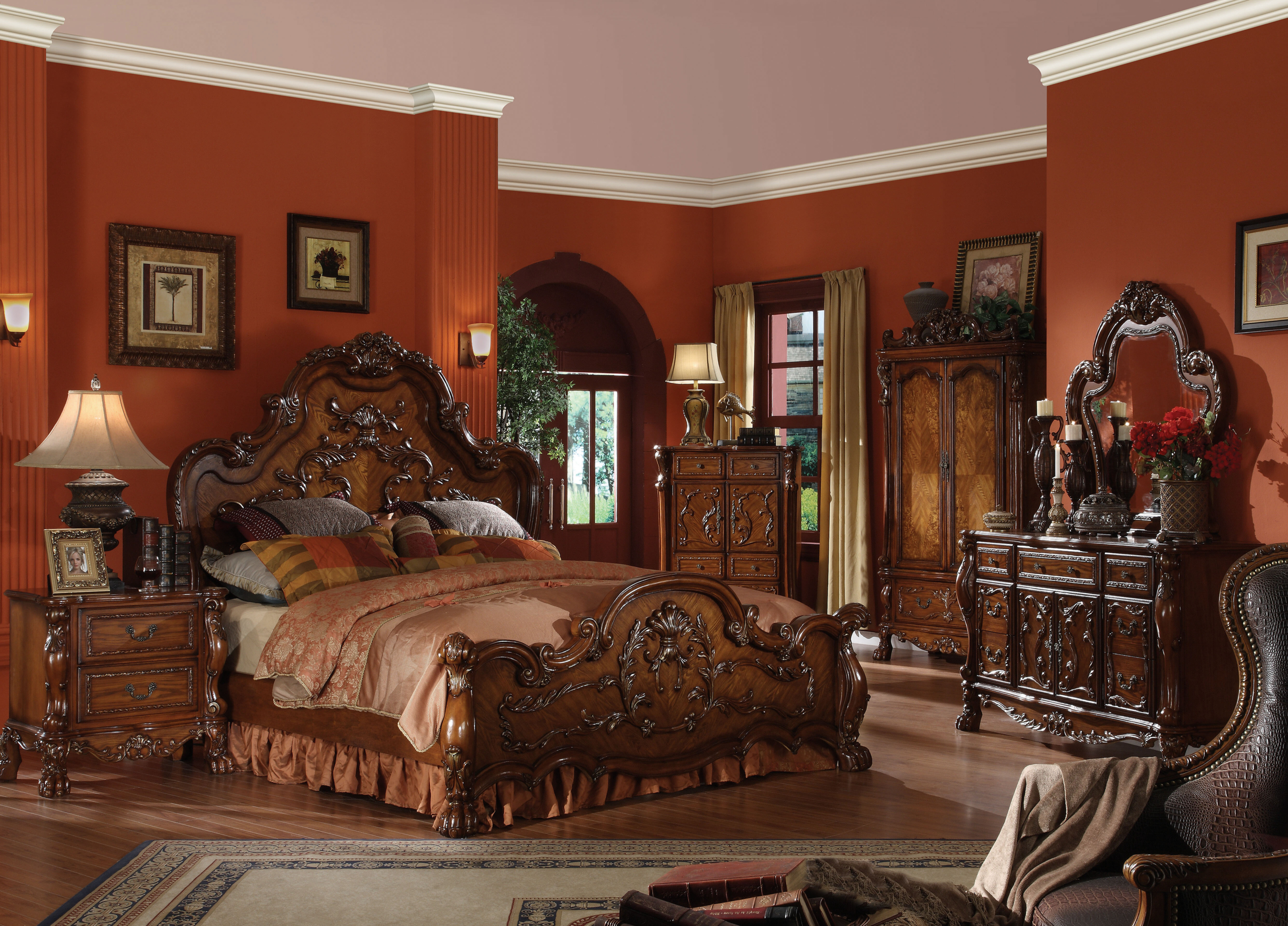 Innovative Wood Bedroom Sets Set